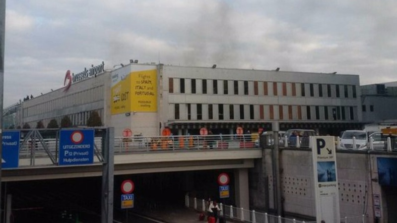 Casualties reported in Brussels blasts
