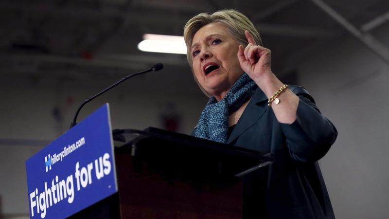 VERBATIM: Clinton slams Trump on Brussels attacks