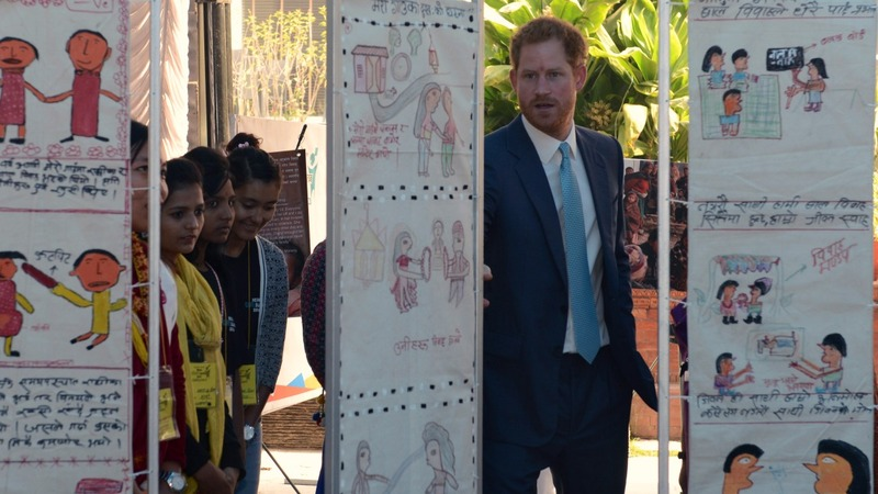Prince Harry condemns child marriage