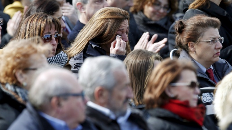 Relatives mark Germanwings crash anniversary