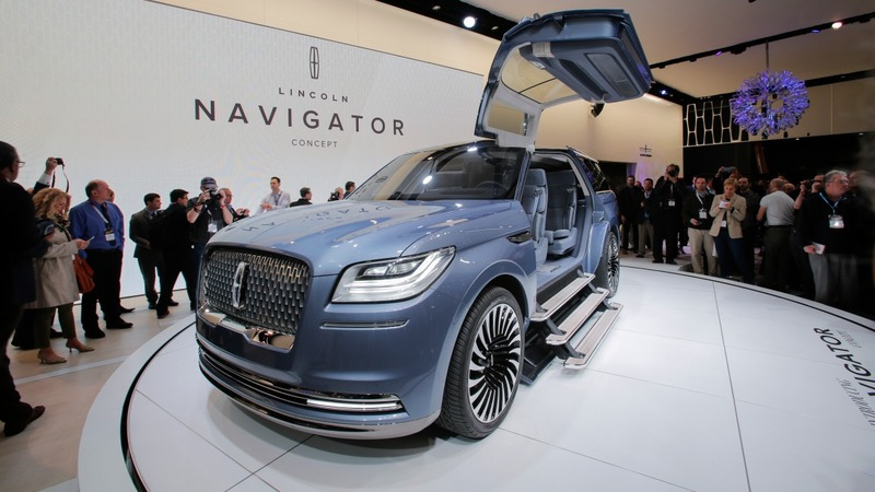 The allure of luxury SUVs shine at NY auto show