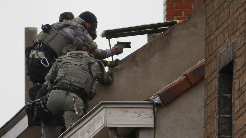 Belgium hunts bombing suspect caught on film