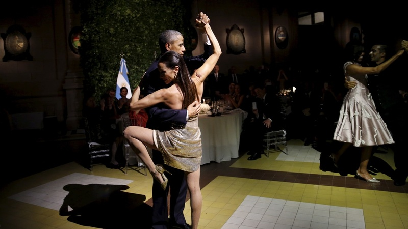 INSIGHT: Obama dances the tango in Argentina