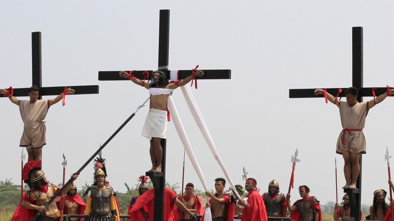 INSIGHT: Filipinos crucified on Good Friday