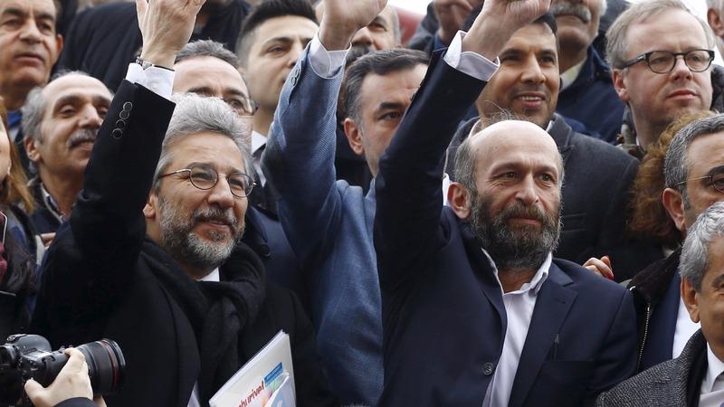 Turkish journalists go on trial for espionage