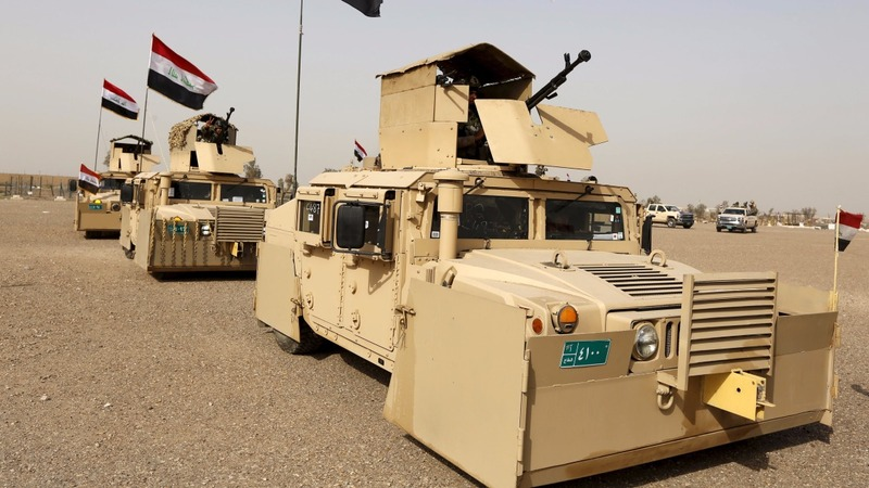 Iraqi forces' bid to retake Mosul from IS