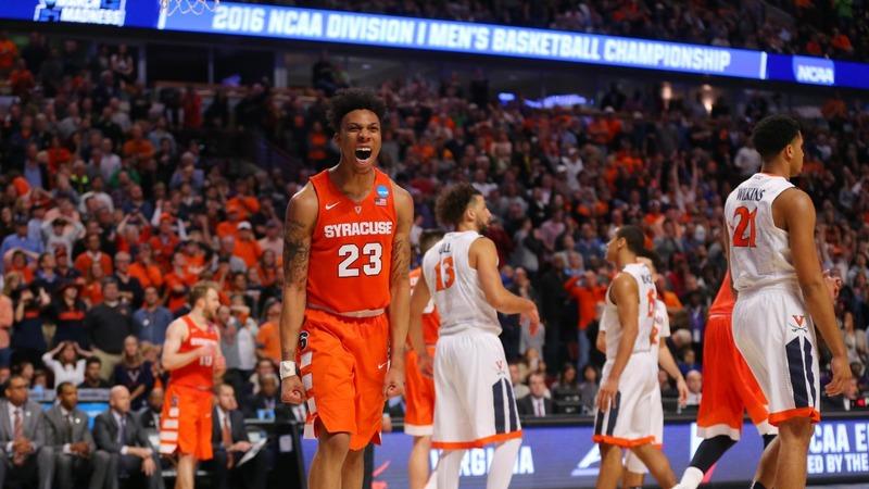 Syracuse crashes the big dance
