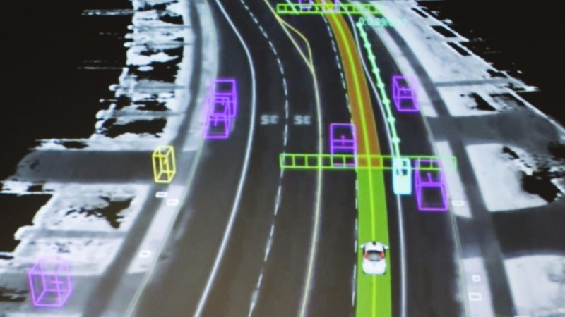 Self-driving cars hit a pothole