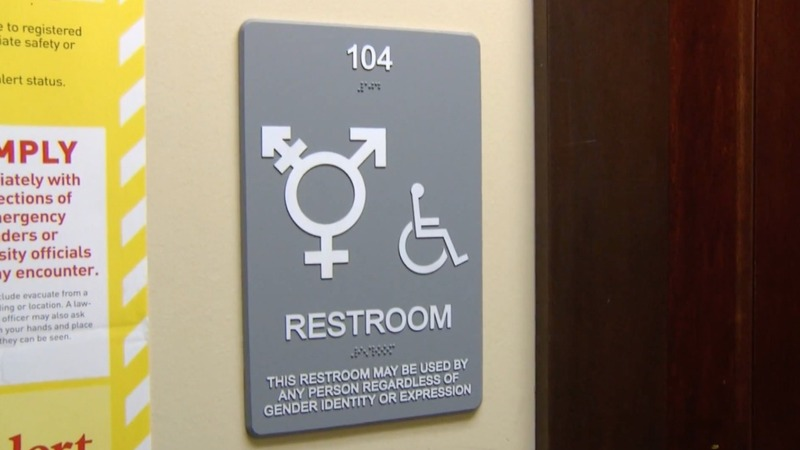Gay rights groups sue over NC transgender law
