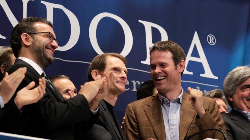 Pandora shares tank after sudden CEO change