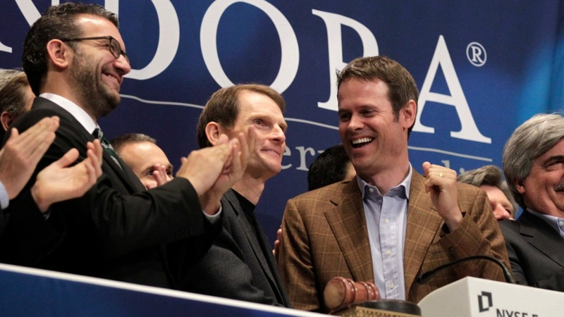 Pandora shares tank after sudden CEO change