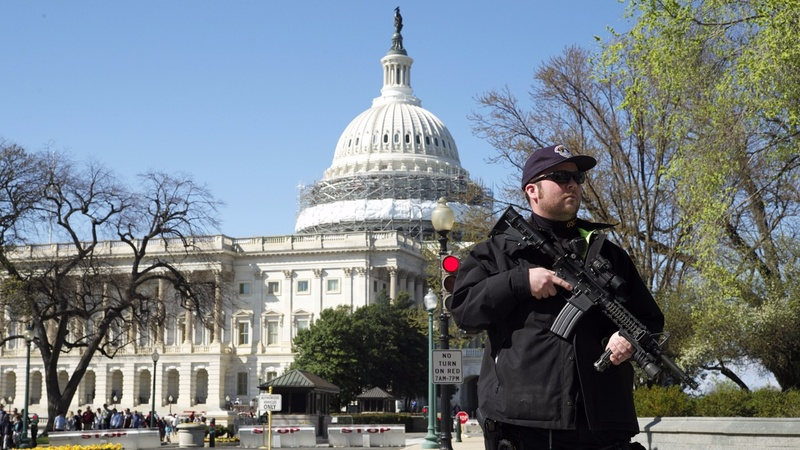 Shots fired in Capitol complex