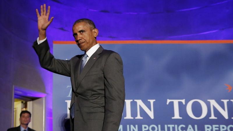 Obama blames media for campaign tone