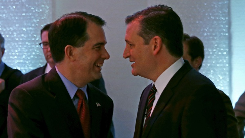 Walker endorses Cruz
