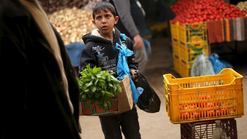 Child labour rises in Gaza amid unemployment