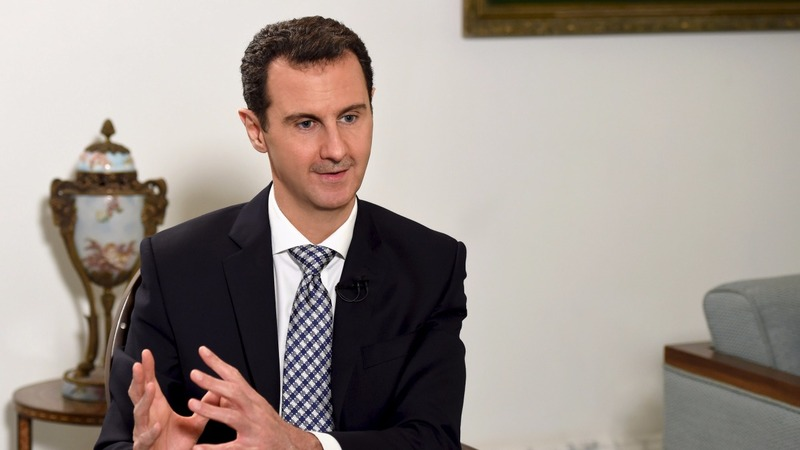 Assad wants to talk- and the West won't like it