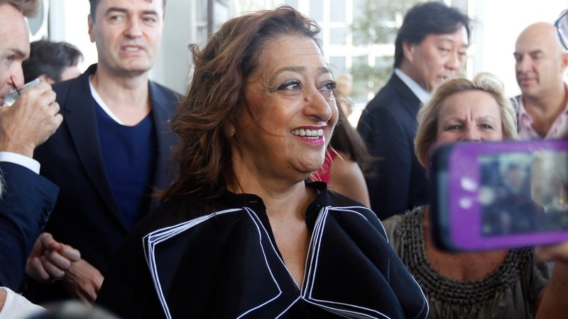 Renowned architect Zaha Hadid dies suddenly
