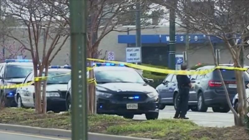 Shooting rocks Richmond bus station