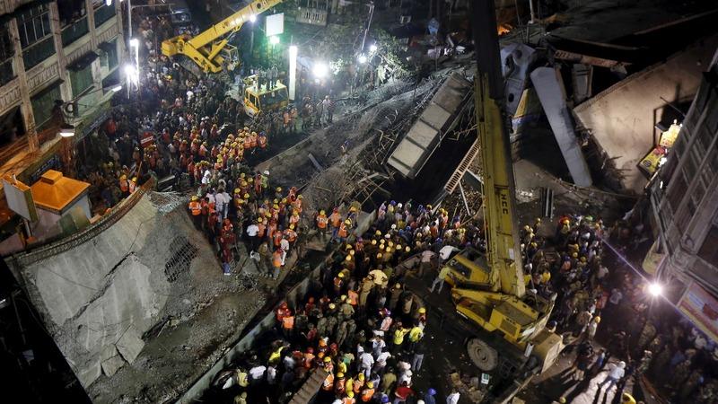 Death toll rises in India bridge collapse