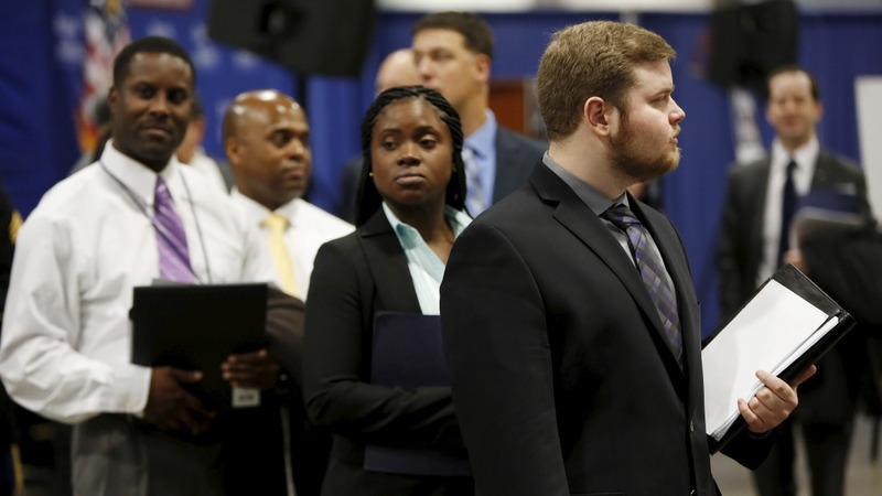 U.S. wages rise as hiring remains solid