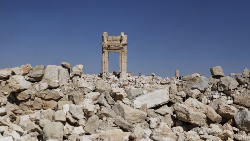 Rejoice and rebuild: Inside Palmyra after IS