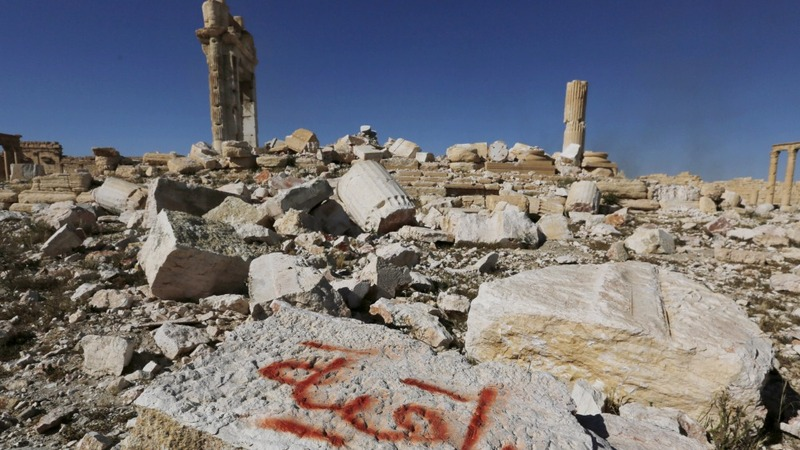 Mass grave found in Palmyra after IS ousted