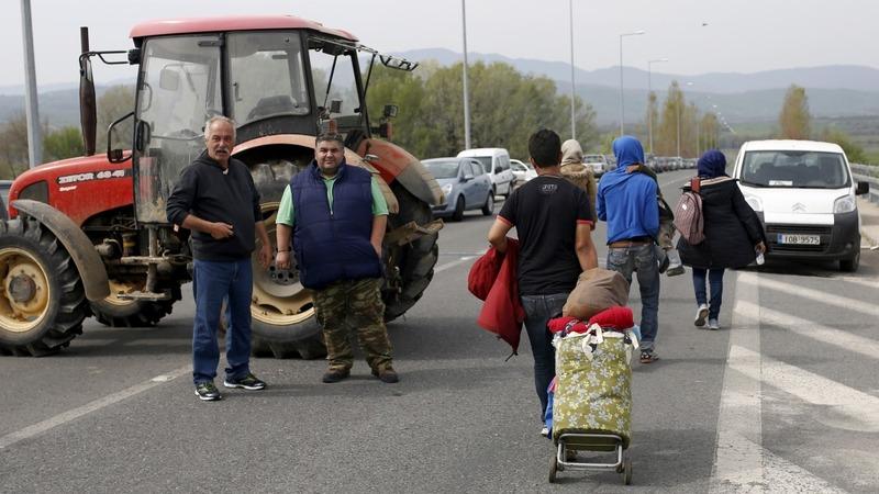 Protest over EU-Turkey migrants return deal