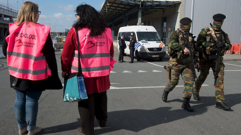 Brussels airport opens 12 days after attack