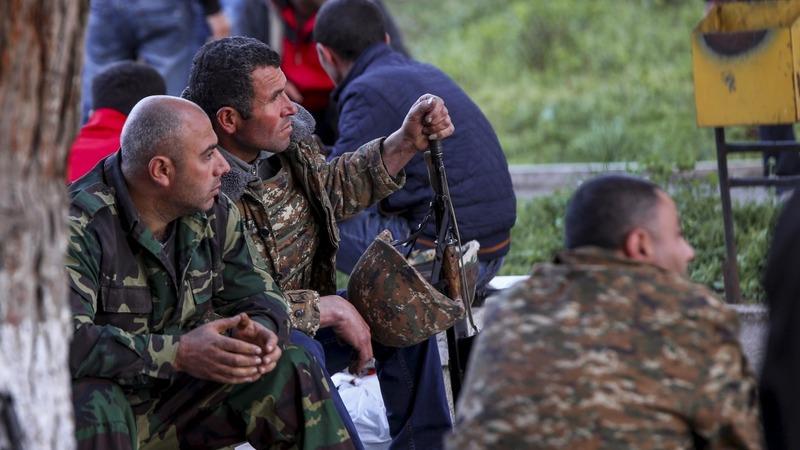 Clashes continue in South Caucasus