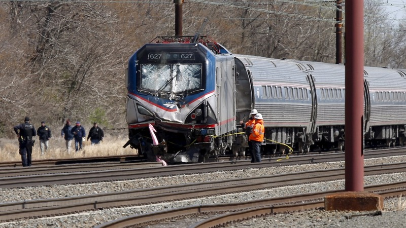 Two dead in Amtrak crash