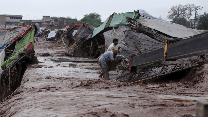 Floods kill at least 55 in northern Pakistan