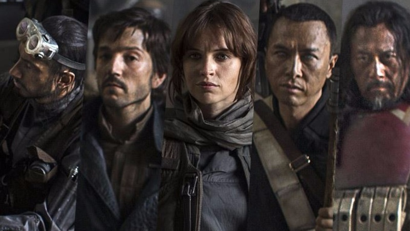 Star Wars' spin-off 'Rogue One' gets first trailer