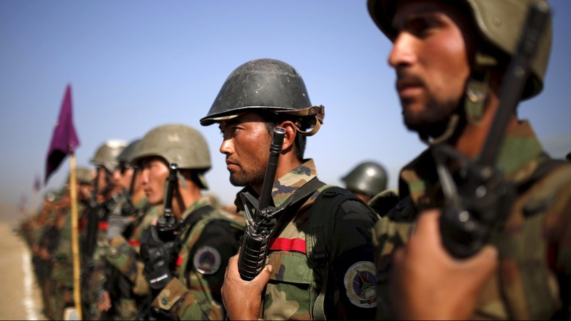 Afghan troops get ready to face Taliban alone