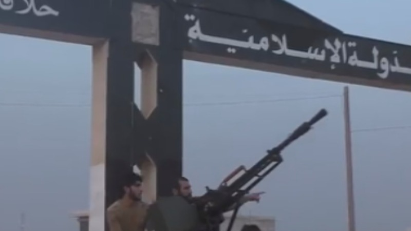 Syrian rebels seize strategic town from IS