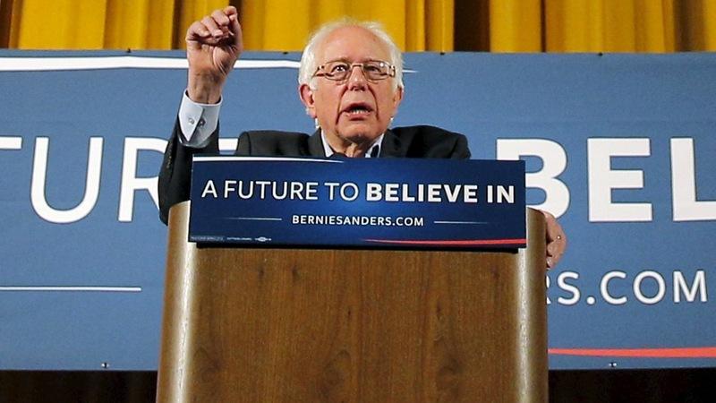 Sanders on a tear through NYC