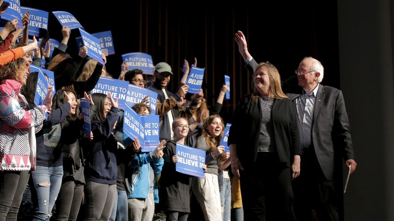 Sanders wins Wyoming, but New York looms