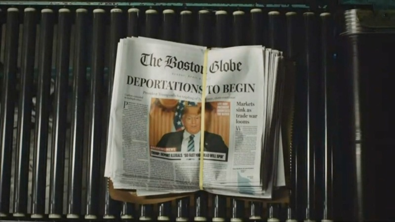 Boston Globe denounces Trump in 'front-page' satire