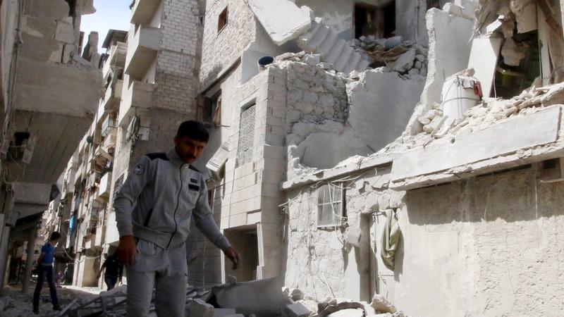 Aleppo fighting strains Syria truce