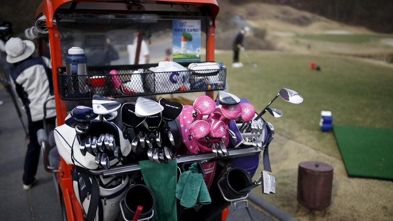South Korea's affordable golf drive