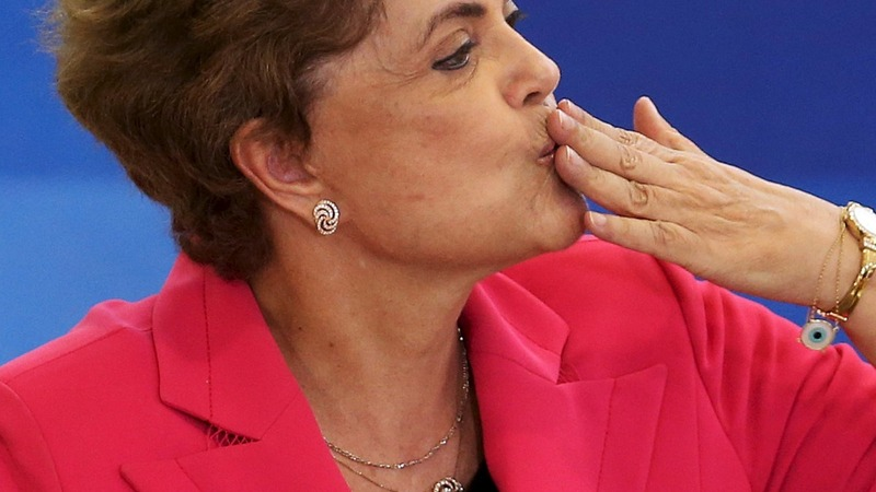 Impeachment vote blow for Brazil's Rousseff