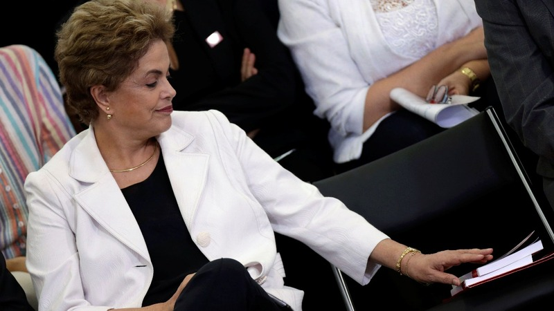 Rousseff cries foul in impeachment row
