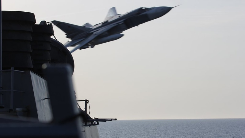 Russia stuns U.S. ship with simulated attack