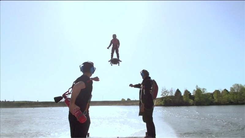 INSIGHT: Piloting to the future on a Flyboard