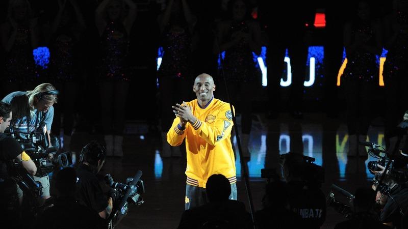 Kobe tells his kids to 'YouTube' his prime years