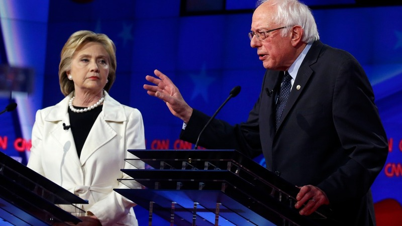 Clinton slams Sanders' gun record at NY debate