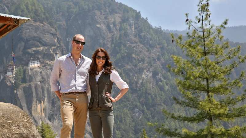 INSIGHT: Will and Kate trecking in Bhutan