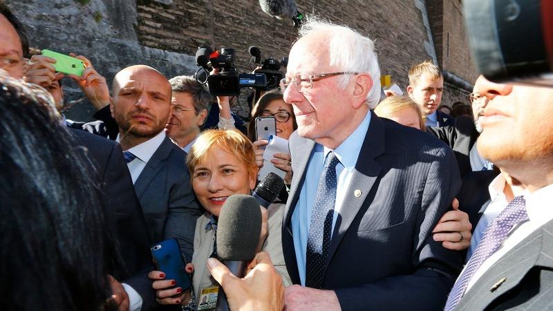 VERBATIM: Bernie Sanders in the Vatican