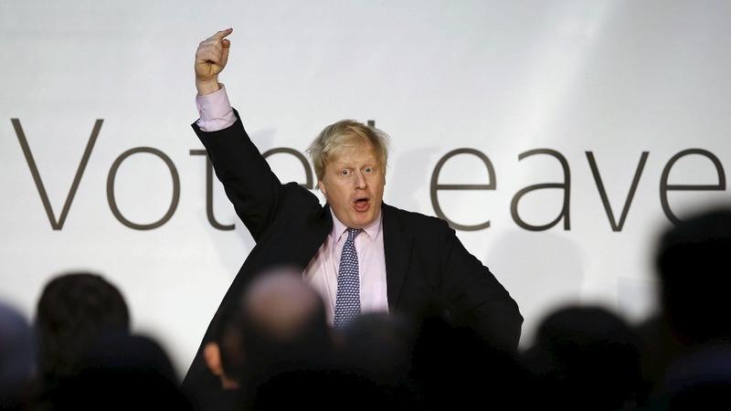 VERBATIM: Boris bangs Brexit drum