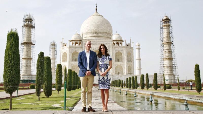 INSIGHT: William and Kate visit Taj Mahal