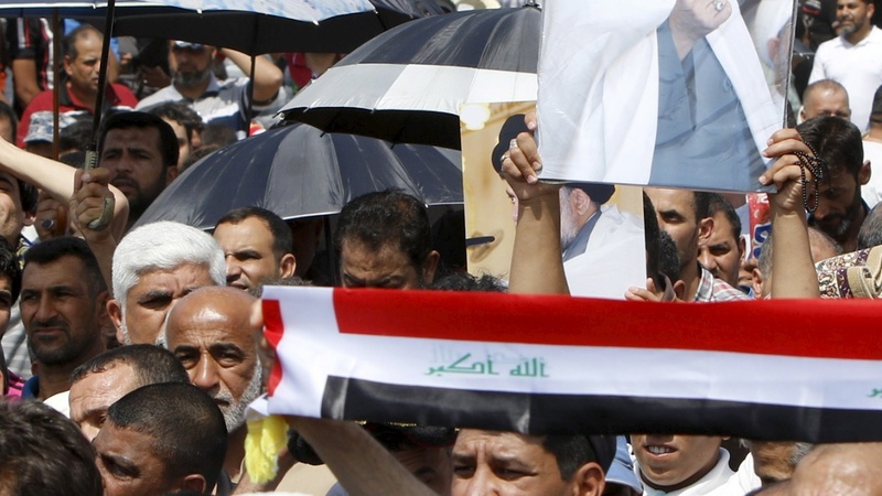 Iraqi protesters demand clean cabinet